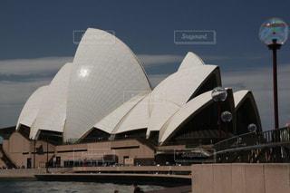 ユニークなデザインのシドニーオペラハウスの写真・画像素材[1842023]
