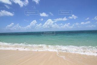 透明な美しいエメラルドグリーンのグレートバリアリーフの写真・画像素材[2330115]