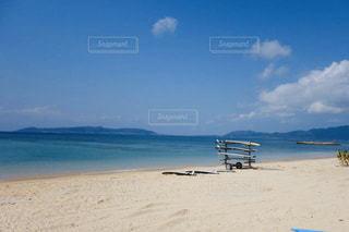 静寂な美しい石垣島フサキビーチの写真・画像素材[2802035]