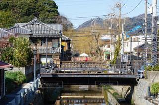 レトロな下田ペリーロードの町並みの写真・画像素材[2842459]