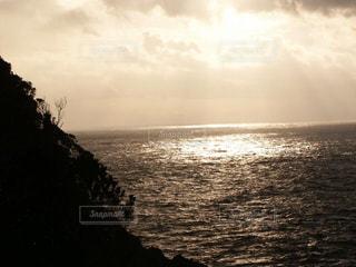 セピア色の海の写真・画像素材[2905844]