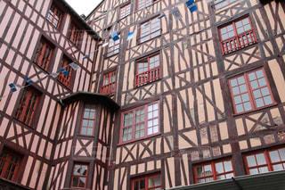 ルーアンの木組みの家の写真・画像素材[3110517]