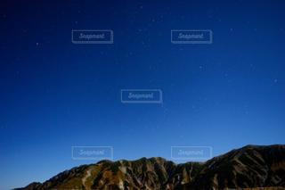 立山室堂から星空を見上げての写真・画像素材[3402622]
