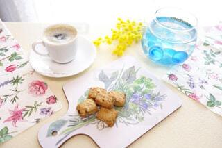 ふんわり春のおうちカフェの写真・画像素材[4317503]