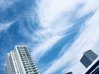 空,建物,秋,ピクニック,二子玉川,秋空