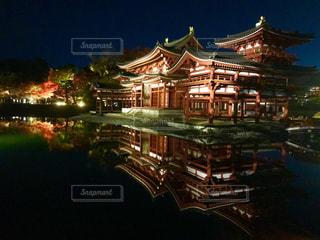 京都の夜の写真・画像素材[1637176]