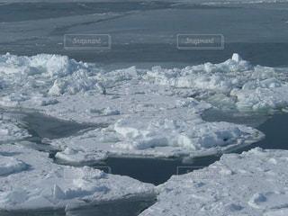 自然,風景,海,空,冬,雪,屋外,白,北海道,氷,旅行,網走