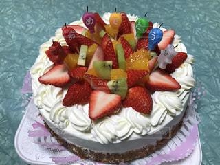 食べ物,ケーキ,デザート,フルーツ,果物,皿,誕生日,装飾