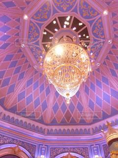 ピンクの天井の写真・画像素材[1793546]