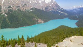 自然,空,湖,山,景色,カナダ,眺め