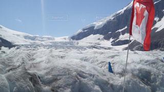 自然,雪,屋外,景色,氷,旅行,国旗,カナダ,氷河,覆う