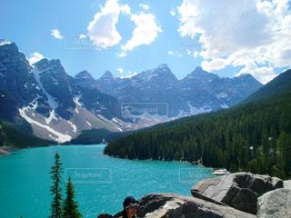 湖の絶景の写真・画像素材[1816046]