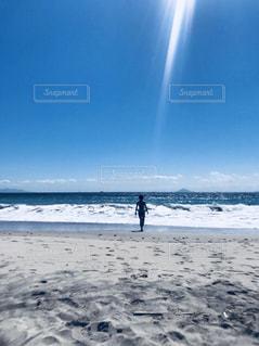 海と太陽と夏休みの写真・画像素材[1459167]