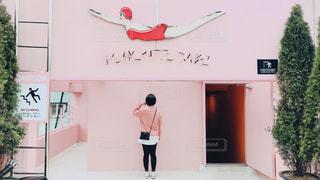 カフェ,ピンク,プール,少女,旅行,韓国,pink,パーカー,ピンクプール