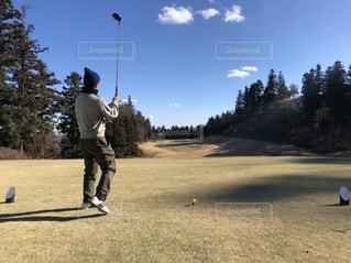 秋,スポーツ,屋外,男,ゴルフ,スポーツの秋