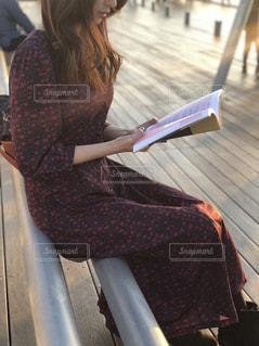 読書の秋🍁📕の写真・画像素材[1558871]