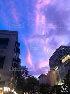 空,ピンク,旅行,ハワイ,ワイキキ,コンテスト,pink