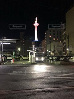 夜の街の写真・画像素材[1700543]