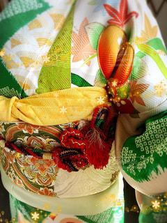 紅葉,かわいい,振袖,成人式,アレンジ,着付け,帯締め
