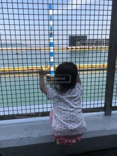 海,後ろ姿,ボートレース,ボートレース場