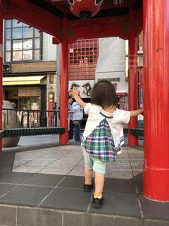後ろ姿,神戸,中華街,神戸元町