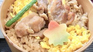 食べ物,秋,食事,栗,旅行,料理,食欲,炊き込みご飯,秋田,比内地鶏