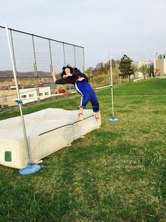 スポーツ,陸上,運動,応援,スポーツの秋,高跳び