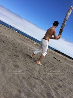 海,スポーツ,屋外,綺麗,砂浜,野球,おしゃれ,インスタ映え