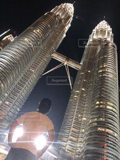 空,絶景,屋外,綺麗,観光,旅行,マレーシア,ペトロナスツインタワー,おしゃれ,インスタ映え