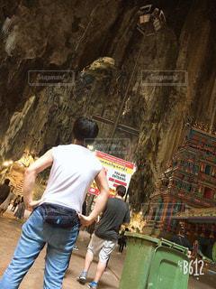 自然,人,洞窟,マレーシア,眺め,おしゃれ,バトゥ洞窟,インスタ映え