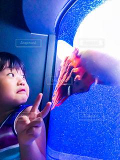 水族館,子供,女の子,クラゲ,3歳
