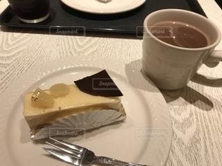 ケーキ,おやつ,甘味,ココア,洋梨