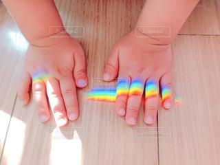 虹をつかまえた♪の写真・画像素材[1629440]