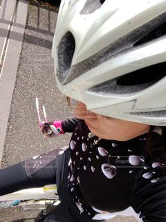 ロードバイクに乗っての写真・画像素材[1514357]