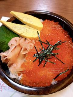 秋,料理,海鮮,しあわせ,きらきら,いくら,イクラ丼,秋の味覚