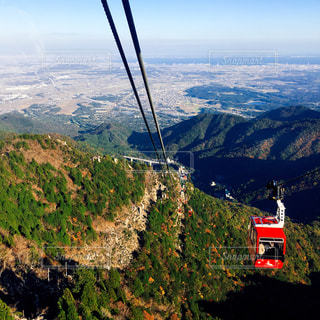 秋,紅葉,ロープウェイ,紅葉狩り,iPhone撮影,御在所岳,湯の山