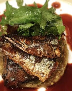 食べ物,秋,料理,秋刀魚,サンマ