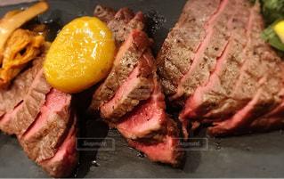 食べ物,秋,栗,肉,料理,フレンチ,牛肉,ジロール茸