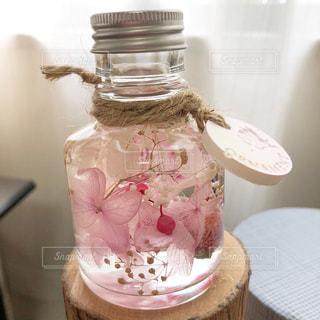 花,屋内,ピンク,アジサイ