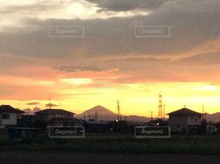 三角富士山の写真・画像素材[2473182]