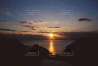 自然,風景,海,空,屋外,太陽,雲,夕暮れ,水面,光