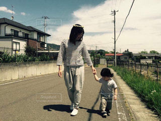 仲良くお散歩の写真・画像素材[1583912]