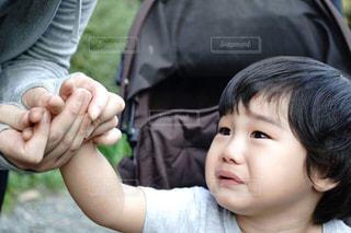 3歳児の我慢の写真・画像素材[1788659]