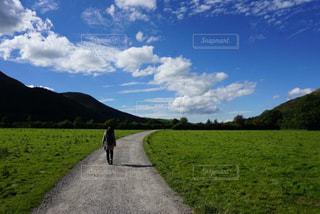 自然,空,海外,山,道,イギリス,未来,夢,可能性,湖水地方