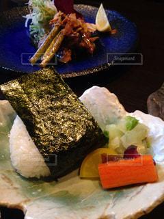 食べ物,秋,おにぎり,皿,料理,美味しい,食欲の秋
