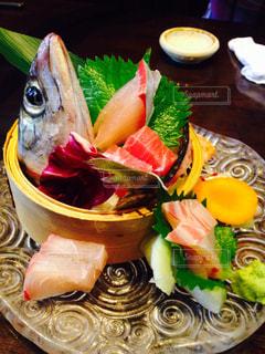 食べ物,秋,食事,皿,お刺身,新鮮,食欲の秋