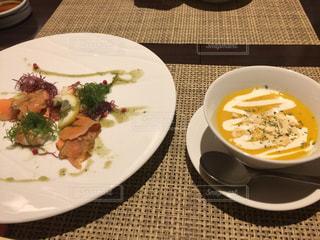 食事,スープ,かぼちゃ,料理,食欲