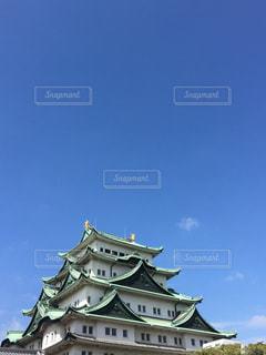 青空,城,秋晴れ,しゃちほこ,天高く