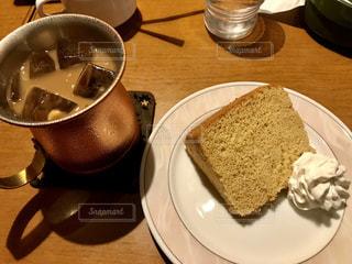 ケーキ,コーヒー,食事,料理