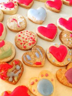 手作りアイシングクッキーの写真・画像素材[1538431]